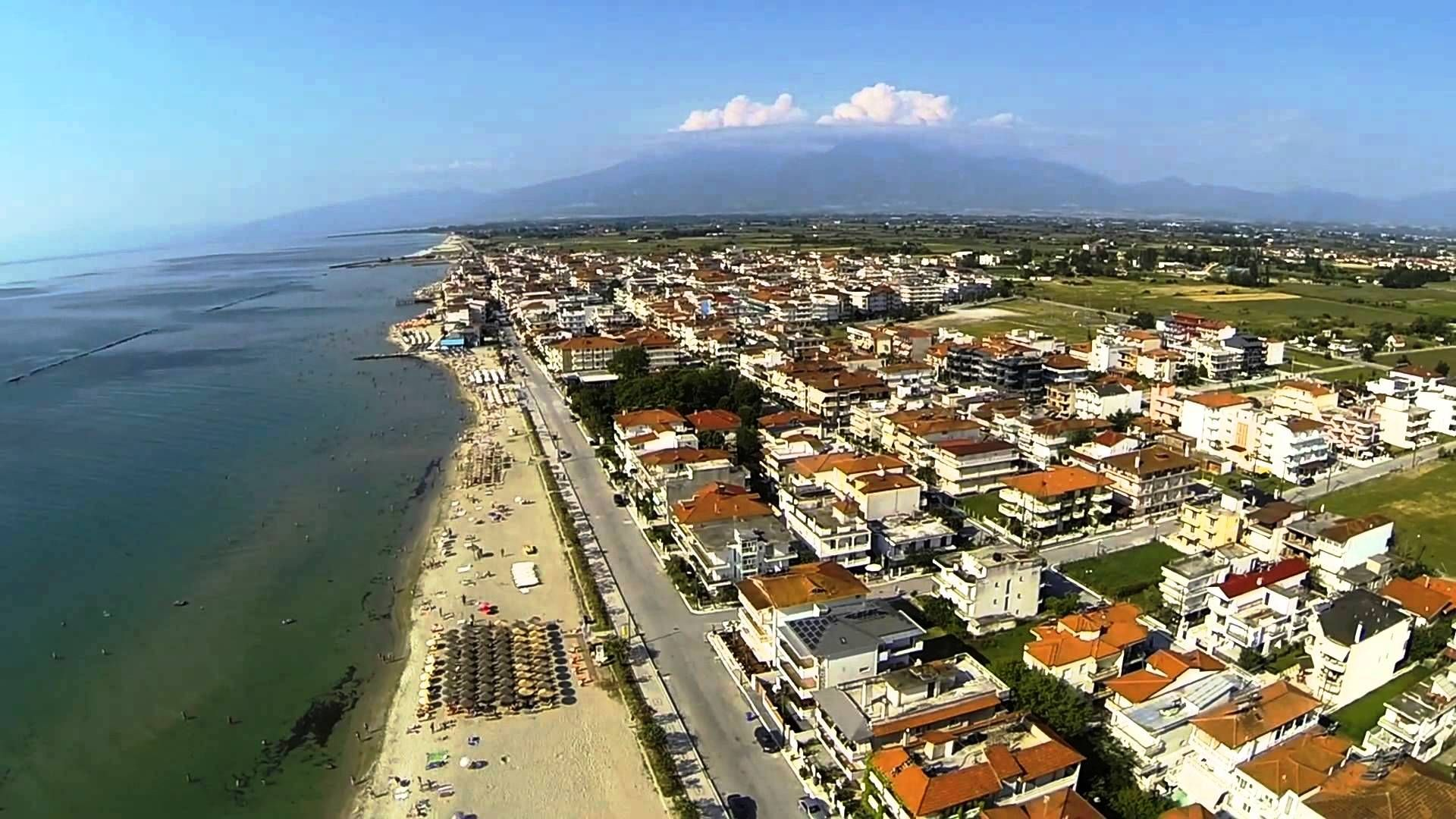 PARALIJA i OLYMPIC BEACH - GRČKA - leto 2020 - FIRST MINUTE